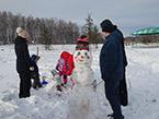 Конкурс на лучшего снеговика, 2 января 2017 г.