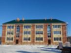 Закончены работы по строительству крыши и остекление жилого дома 9/3, январь 2017 г.